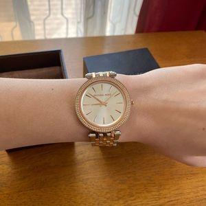 Michael Kors Darci Watch (Silver/Gold/Rose Gold)